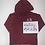 Thumbnail: Burgundy hoodie