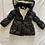 Thumbnail: Black puffer coat