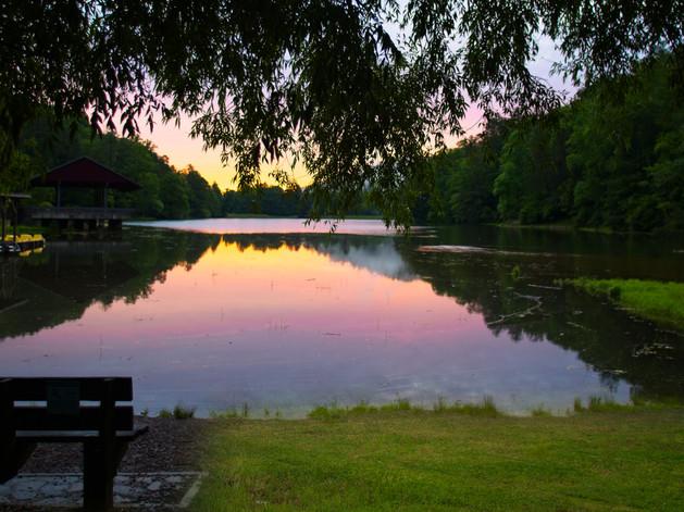 Vogel State Park Sunrise  7446