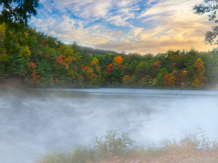 Autumn at Fort Mountain State Park  9690