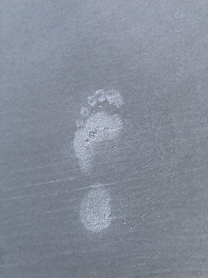 Gods Last Foot Print on Earth IMG 1271