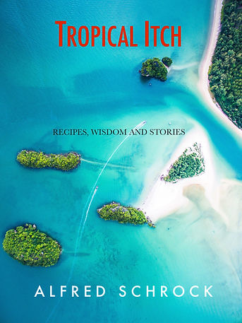 Tropical Itch Cover. A journey to the Caribbean.
