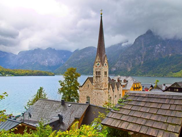 Hallstatt, Austria  1153