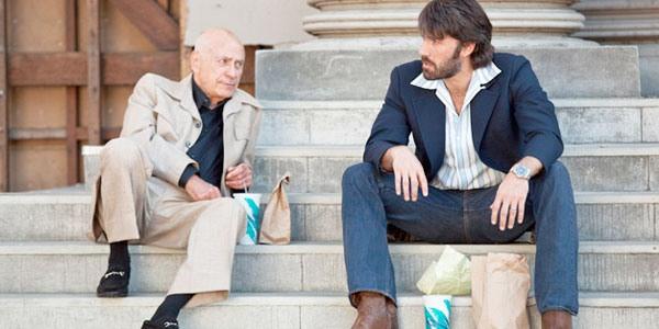 Alan Arkin and Ben Affleck in Argo