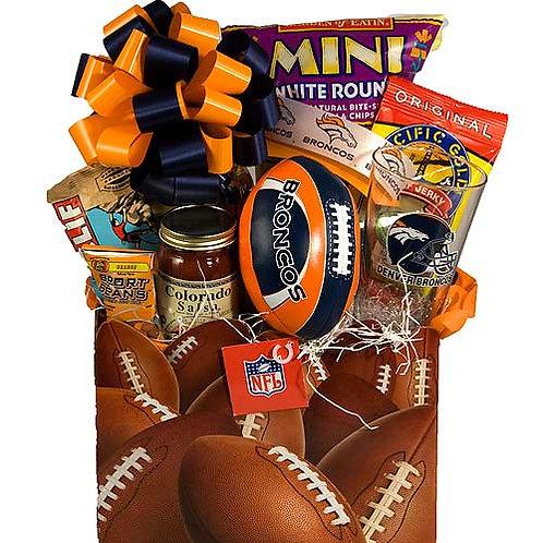 Denver Broncos Gift Basket