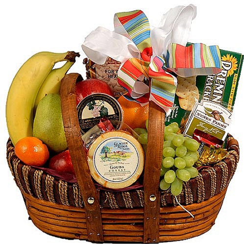 Monet's Fruit and Cheese Basket - Denver Metro Area Deliveries Only