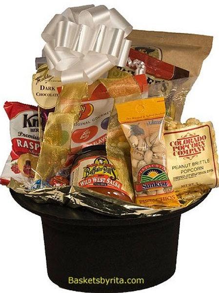 Hats Off Appreciation Gift Basket
