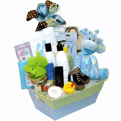 Mom and New Baby Gift Basket