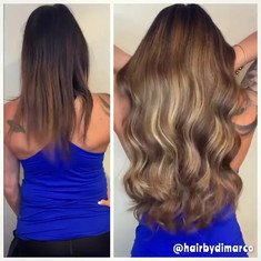Individual Hair Extensions By #hairbydi