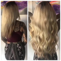 ⭐️Before and After ⭐️ Individual Hair Ex