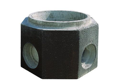 Ø450X650 Yağmur Izgara Baca Gövdesi 45X65 H:25 cm