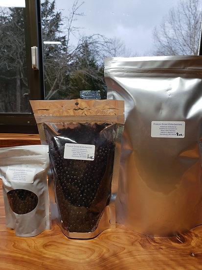 Freeze Dried Elderberries