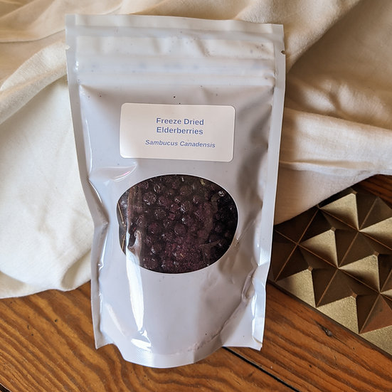 Freeze Dried Elderberries - 2 Pack