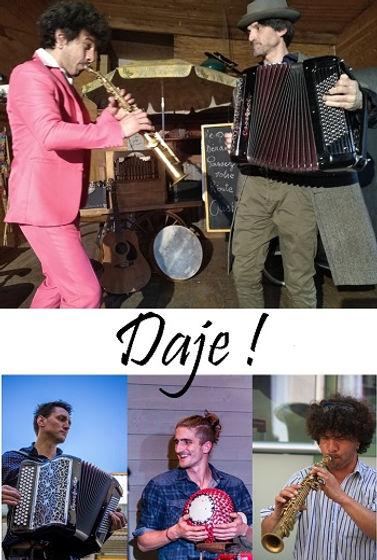 Daje!.jpg; fanfare;fanfare de poche;fanfare Tarbes,Pau,64,65,32,40;Groupe de musique
