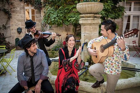 Spectacle de flamenco ;groupe de musique flamenco, rumba espagnole; danse flamenco; groupe flamenco à Pau, Tarbes; Flamenco 64,65,32,40