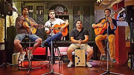 flama kaly, groupe de musique espagnole, rumba gitane, animation espagnole