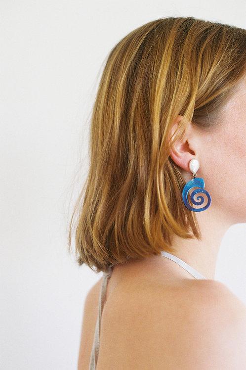BRISA TITANIUM EARRINGS
