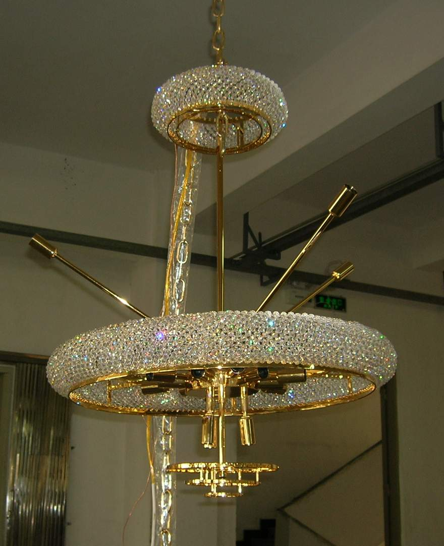 Luen fat custom hospitality lighting macau classic crystal lighting chandelier use swarovski crystals arubaitofo Image collections