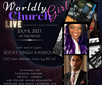 Live again with The Worldly Church Girl Podcast