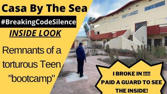 I BROKE INTO Casa By The Sea !! Breaking Code Silence - The truth behind Torture Bootcamps for Teens