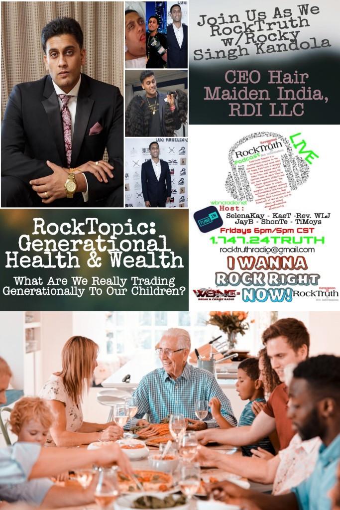 Rock Truth Radio with Rocky Singh Kandola