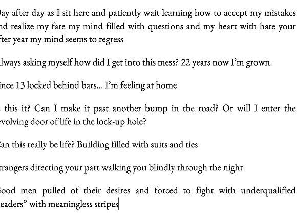 Meditations of a Prisoner