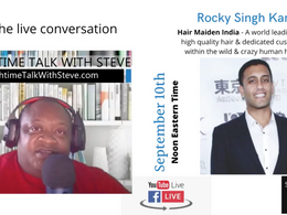 Lunchtime Talk with Steve LIVE on the Human Hair Industry
