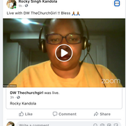Live with DW Church Girl on Motivational Monday's