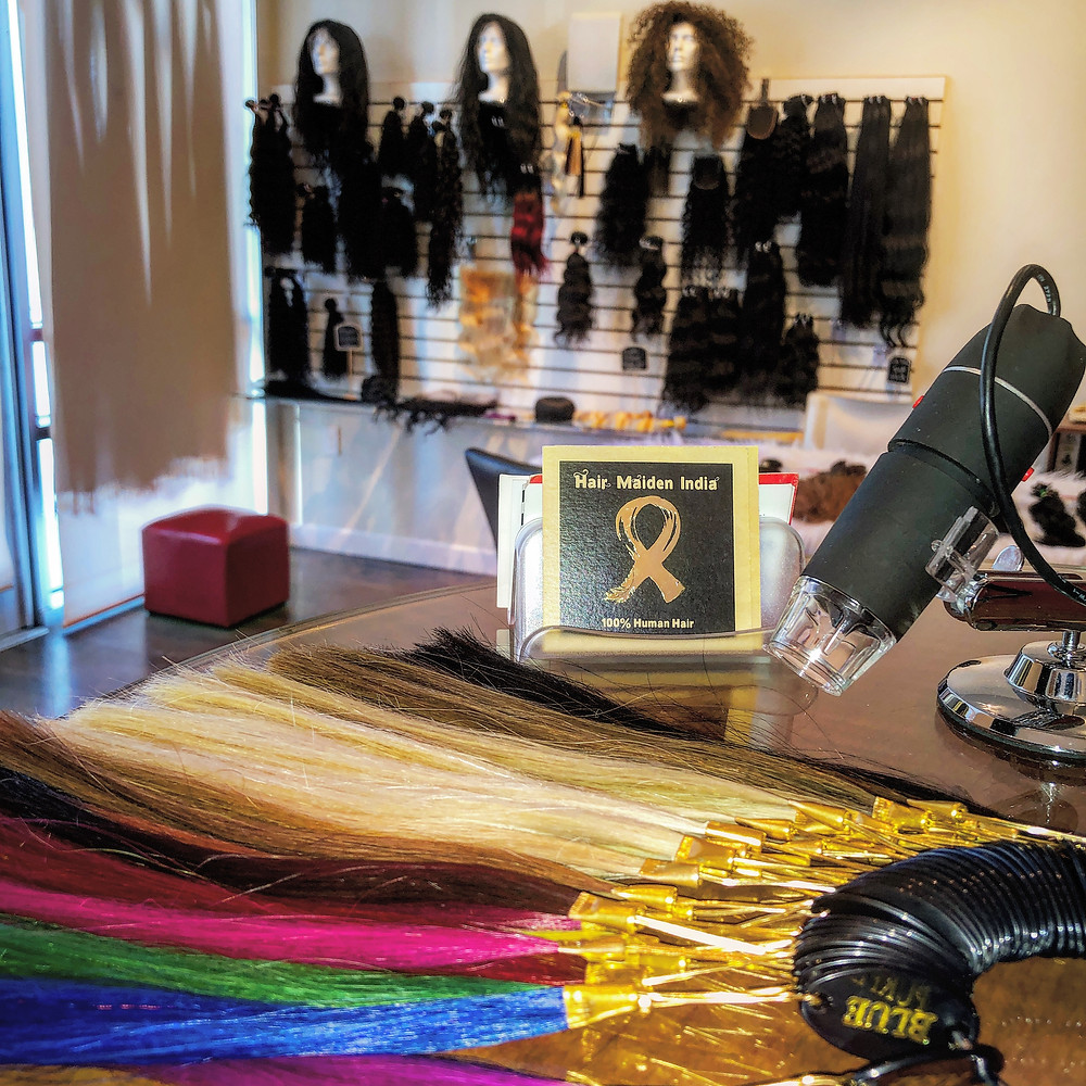 Our full service hair loft downtown Los Angeles is almost totally done !
