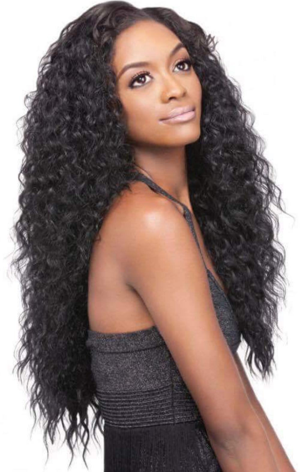 26 Inch Human Indian Hair | Brazilian Curl Hand Made Wig