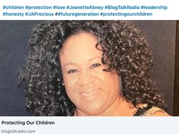 We must protect our children LIVE Blog Talk Radio !