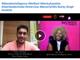 Live on The Blonde Intelligence Podcast with Roni