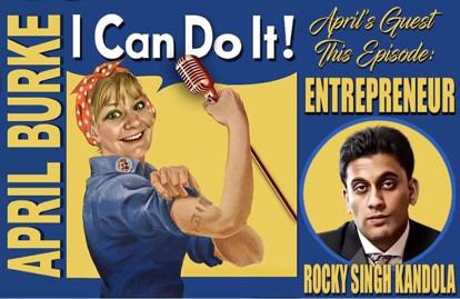 Rocky Singh Kandola and April Burke podcast