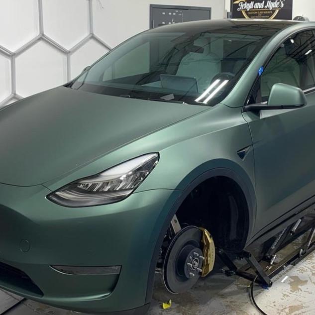 Color Change for Model Y Tesla