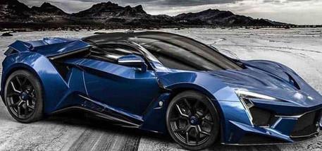 gloss blue custom wrap