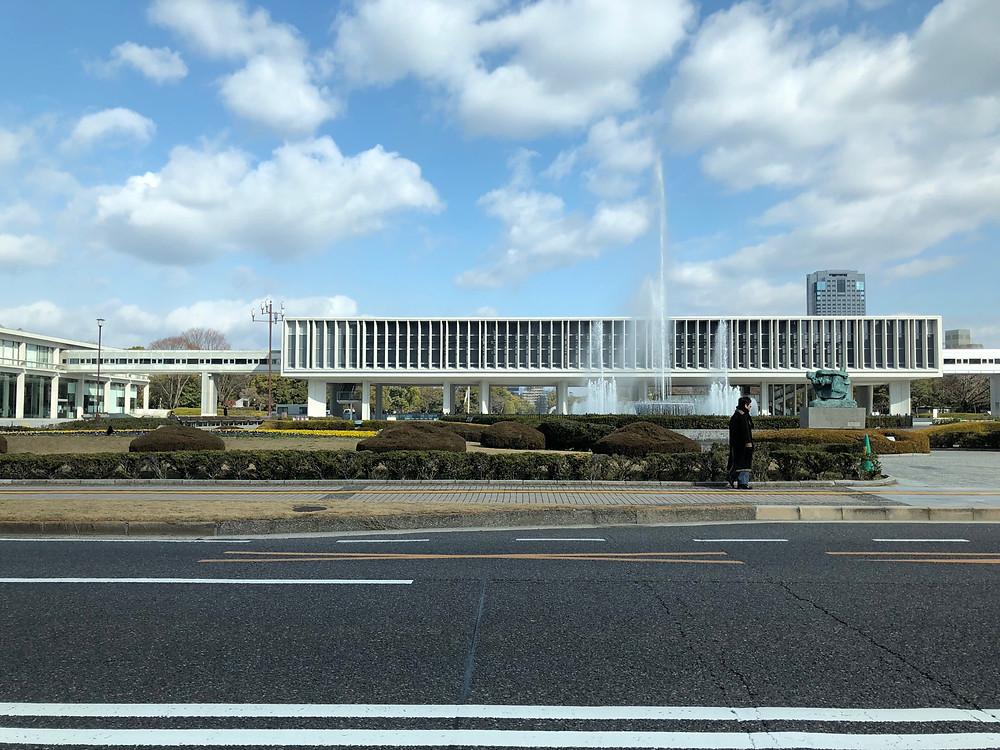 広島市 平和公園 2月3日11時撮影