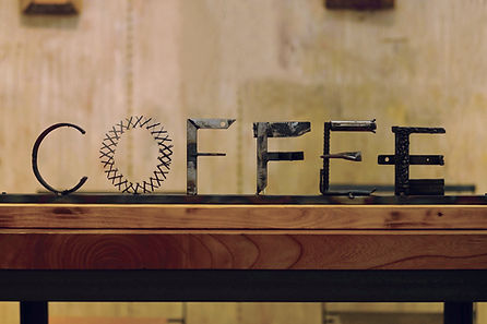 COFFEE アイアンオブジェ