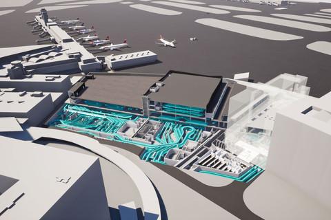 Flughafen Zürich - Gepäcksortieranlage