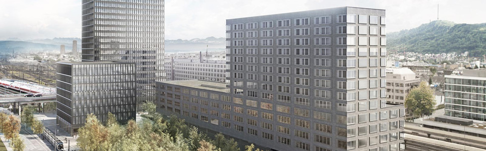 Westlink Cube & Tower - Altstetten