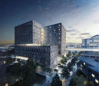 Neubau Inselspital BB12