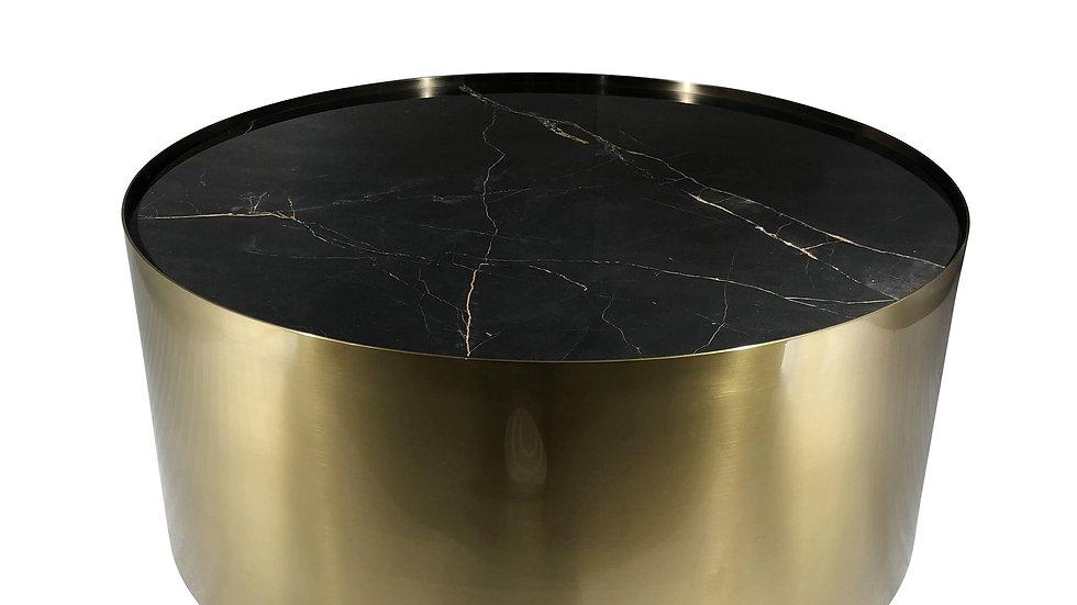 Cayenne Coffee Table Black Porcelain