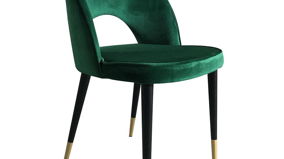 Bourdain Dining Chair Green Velvet