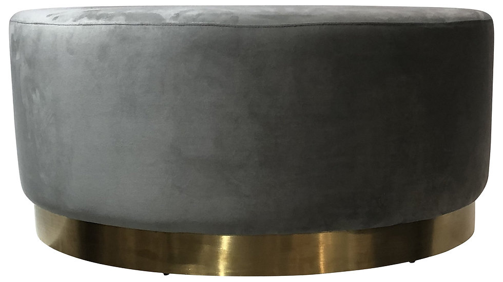 Aberdeen Ottoman Large Light Grey