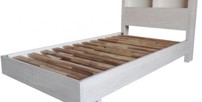 PHOENIX SINGLE BED WITH BOOKEND HEADBAORD