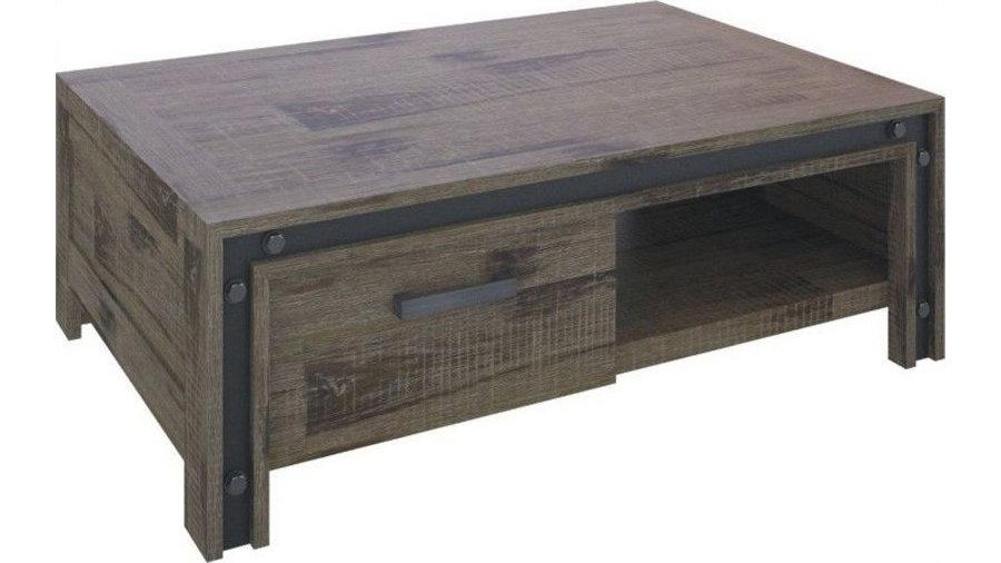 Warehouse Coffee Table 2 Drawers