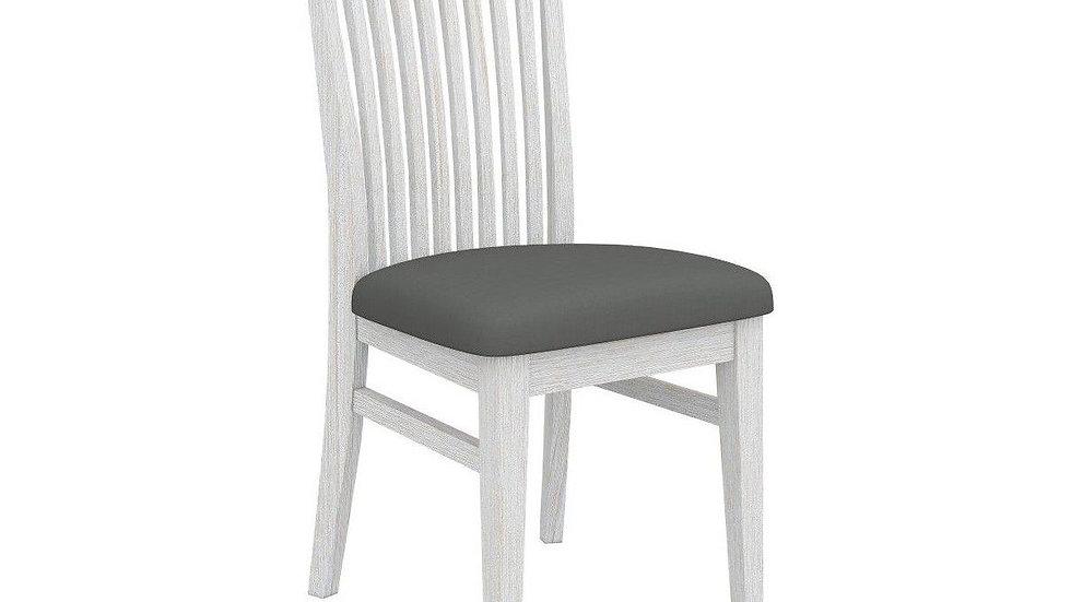 Florida Dining Chair Grey PU Seat