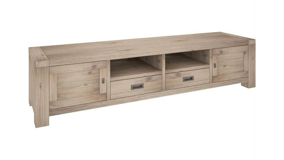 Oyster Bay TV Unit 2 Drawers & 2 Doors