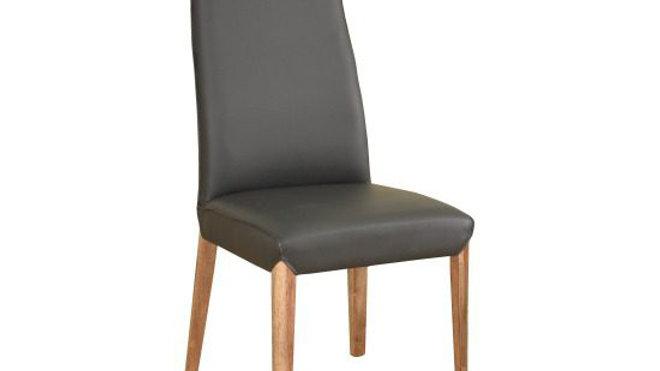 Clara Dining Chair PU - Inno D. Grey