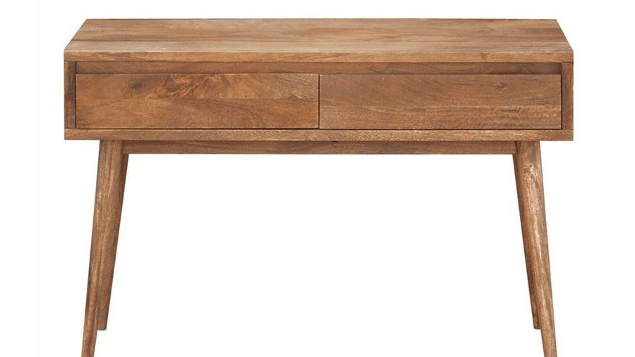 Retro Console Table 2 Drawers