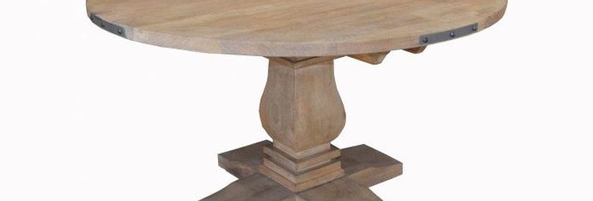 UTAH ROUND DINING TABLE